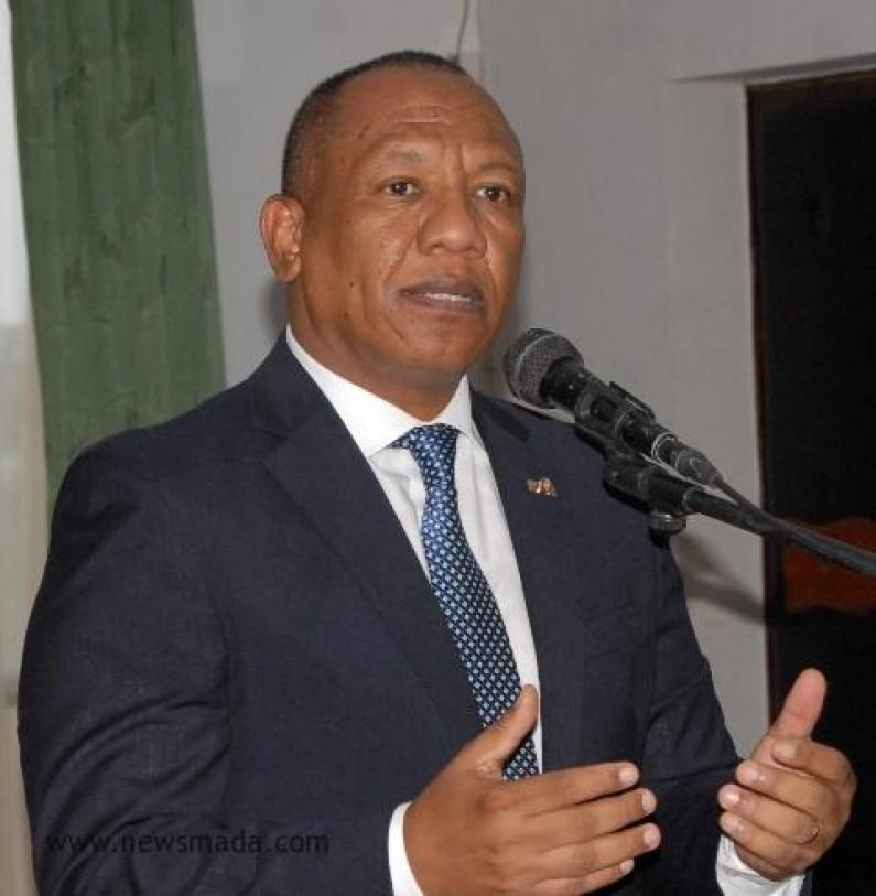 Statsminister Christian Ntsay